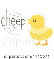 Chick Onomatopoeia Sound Cheep Illustration