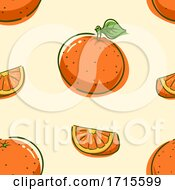 Seamless Orange Background Illustration