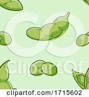 Seamless Soy Background Illustration