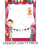 Puppet Festival Frame Illustration