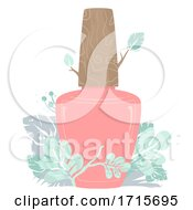 Organic Nail Polish Illustration