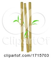 Bamboo Straws Illustration