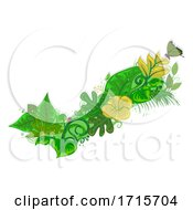 06/05/2020 - Check Nature Leaves Insects Illustration