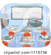 Classroom Yoga Ball Chair Illustration