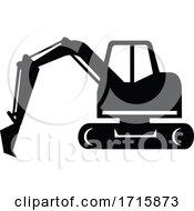 Mechanical Digger Or Excavator