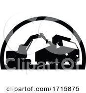 Mechanical Digger Excavator Earthmover
