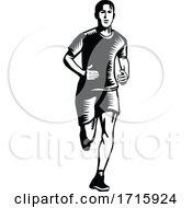 Poster, Art Print Of Marathon Runner