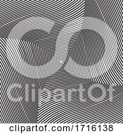 Optical Illusion Background In Black And White