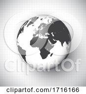 Poster, Art Print Of World Globe Background