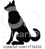 06/10/2020 - Dog Silhouette Pet Animal