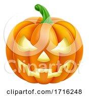 06/10/2020 - Pumpkin Halloween Jack O Lantern Cartoon