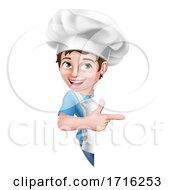 06/10/2020 - Kid Cartoon Boy Chef Cook Baker Child Sign