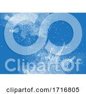 Grunge Halftone Dots Background