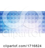 Banner Template With Geometric Design