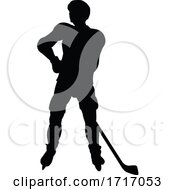 06/20/2020 - Ice Hockey Player Silhouette