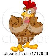 Poster, Art Print Of Chicken Cartoon Rooster Cockerel Character