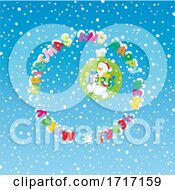 Poster, Art Print Of Merry Christmas And Happy New Yeaar