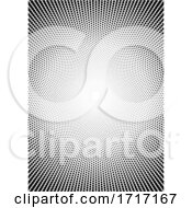 Black And White Halftone Pattern Background