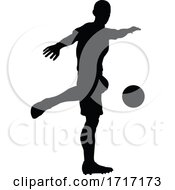 06/22/2020 - Soccer Football Player Silhouette