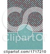 Decorative Polka Dot Background With Mandala Design