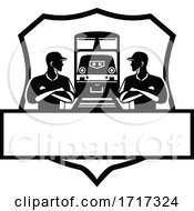 Train Engineers With Arms Crossed