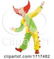 Poster, Art Print Of Presenting Clown