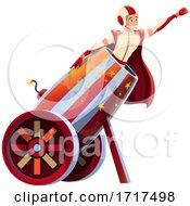 Human Cannonball Circus Act