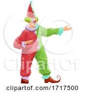 Poster, Art Print Of Clown Presenting