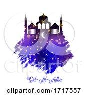 Grunge Style Eid Al Adha Background