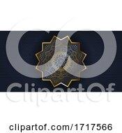 Decorative Mandala Design Banner