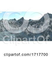 Poster, Art Print Of Mountains