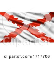 Poster, Art Print Of Flag Of Chuquisaca Waving In The Wind