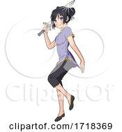 Manga Kung Fu Woman With A Sword