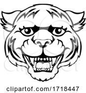 Tiger Mascot Cute Happy Cartoon Character