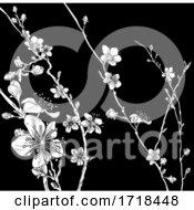 Blossom Japanese Sakura Cherry Flower Print