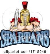 Poster, Art Print Of Spartan Trojan Sports Mascot