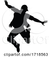 Poster, Art Print Of Street Dance Dancer Silhouette