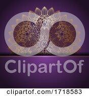 Poster, Art Print Of Elegant Mandala Design