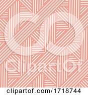 Retro Styled Striped Pattern Design