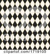Seamless Tiled Harlequin Pattern Design
