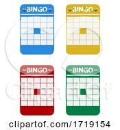 07/30/2020 - Blank Multicolor Bingo Cards