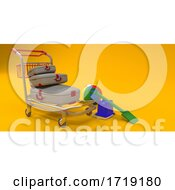 Colourful Plastic Bucket And Spade Background