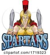 Poster, Art Print Of Spartan Trojan Female Warrior Gladiator Woman