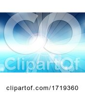 Poster, Art Print Of Abstract Summer Themed Background With Sun Rays