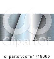 Brushed Metal Banner Design