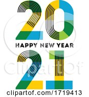 Poster, Art Print Of Happy New Year 2021 Design
