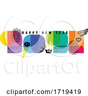 Poster, Art Print Of Happy New Year 2021 Greeting
