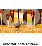 Poster, Art Print Of Turkey Bird In The Woods
