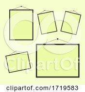 Collection Of Blank Hanging Picture Frames