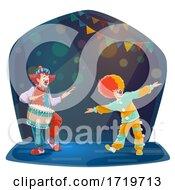 Poster, Art Print Of Circus Clowns